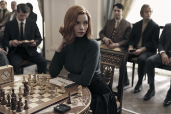 The Queen's Gambit, starring Anya Taylor-Joy, is a contender for outstanding limited or anthology series.