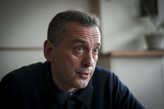 Christos Tsiolkas says the big change since the success of his novel Dead Europe is that he now writes fulltime.