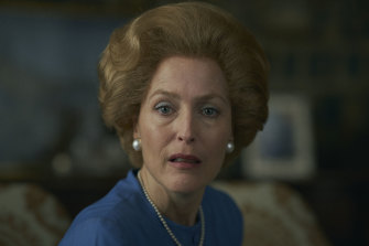 Is this Gillian Anderson's year? The acclaimed actress is nominated for her performance as Margaret Thatcher in The Crown.