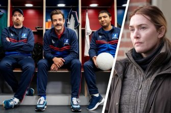 Ted Lasso (starring Brendan Hunt, Jason Sudeikis and Nick Mohammed) is another Emmys favourite, while Mare of Easttown (starring Kate Winslet) has 16 nominations.