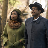 Jennifer Hudson as Aretha Franklin and Forest Whitaker as her father, C.L. Franklin.